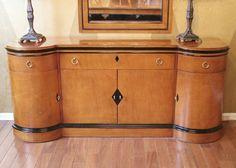 Biedermeier Style Walnut Sideboard
