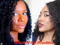 Fall Wash & Go For Healthy Natural Curly Hair