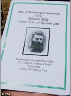 Neds Funeral Book