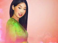 Disney Females Brought to Life - Mulan #illustration #Disney