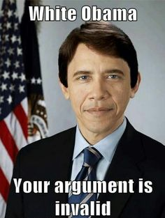 White boy Obama..  I think he looks great and young.. lol..