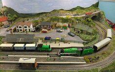 The Haywoods Permanent Way Model Railway Show 2013