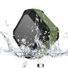 Mini Enceintes Bluetooth, Yokkao® Haute- Parleur Sans Fil Waterproof Antipoussière Anti-casse Trois-Anti Pour Smartphone à Ventouse Pour…