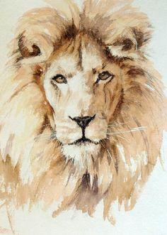 foxyflowerchild:    Lion by Geoff Dawson