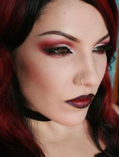 awesome Яркий макияж с красными тенями (50 фото) — Будь оригинальной! Читай больше http://avrorra.com/yarkij-makiyazh-s-krasnymi-tenyami-foto/
