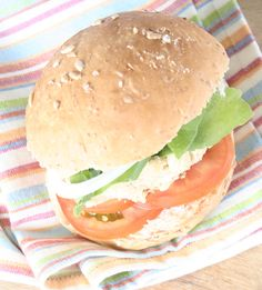 Weigh-Less Online - Tomato And Feta Falafel Burgers