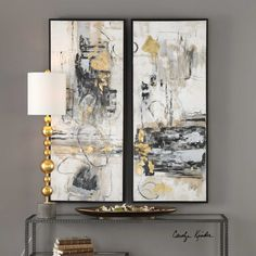 Designed by Carolyn Kinder International, Life Scenes is hand painted on canvas and stretched and attached to wooden stretching bars then encased in a thin, black satin gallery frame.