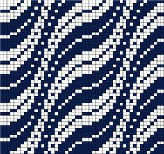 bargello pattern as possible filet crochet pattern? Filet Crochet, Blog Crochet, Crochet Chart, Crochet Birds, Crochet Animals, Tapestry Crochet Patterns, Bead Loom Patterns, Weaving Patterns, Cross Stitch Patterns