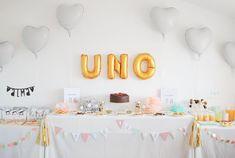La fiesta de cumpleaños de Alma: Hip, hip... ¡Fruta! (I) 1 Year Birthday, Birthday Parties, Birthday Cake, Party, Desserts, Diy, Ideas, Food, Fruit