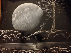 Original Painting. Spray Paint Art. Black and White by JoshLeBlanc, $25.00