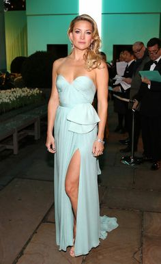 Last year, Kate exuded Hollywood glamour at the Tiffany Blue Book Ball in this dreamy Reem Acra gown.