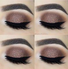 Eye Makeup Tips – How To Apply Eyeliner – Makeup Design Ideas Makeup Goals, Love Makeup, Simple Makeup, Makeup Inspo, Makeup Hacks, Makeup Kit, Natural Makeup, Smokey Eye Makeup, Skin Makeup