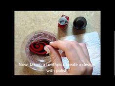 Nail Art Epicness: Water Marble Nail Art Tutorial