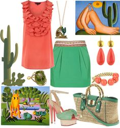 """Tarsila do Amaral"" by ana-cris on Polyvore"