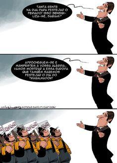Cartoon: O feriado