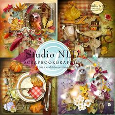 Autumn Minis Super Collection by NewLife Dreams at Scrapbook Graphics