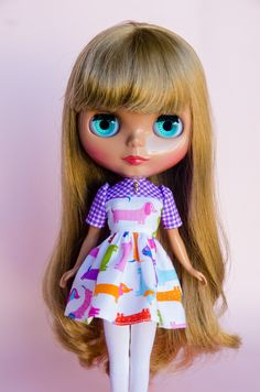 8879b880d63 Handmade Dress for Neo Blythe Doll by Plastic Fashion