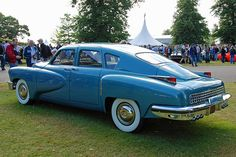 Tucker 48   only built in 1948 and was the 40's car of the future...only 51 where built