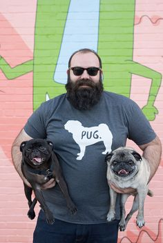 One Pug, Two Pug. https://furandcollar.com/collections/pug/products/pug-t-shirt?utm_source=pinterest&utm_content=pug