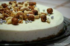jouluinen juustokakku arjentimantteja.blogspot.fi