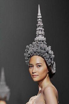 Thai head dress shape