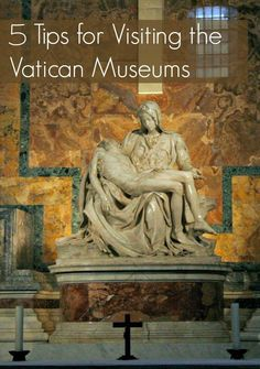 A trip to Rome is incomplete without planning a visit to the Vatican Museums, St. Peter's Basilica, and the Sistine Chapel. These 5 travel tips for visiting the Vatican Museums will help you get the most from your tour of this world heritage site. | Italy travel | http://thetravellingmom.ca