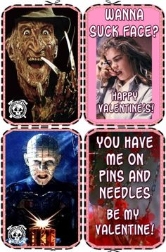 Horror Valentines!