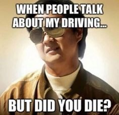 We all have that friend who drives like a maniac! #FunnyFriday