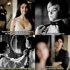 [3x01 - 6x15] — Damon's being sweet #tvd