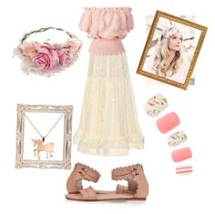 """""""Douce Marie"""" by karolili ❤ liked on Polyvore featuring STELLA McCARTNEY, Louche, women's clothing, women, female, woman, misses and juniors"""