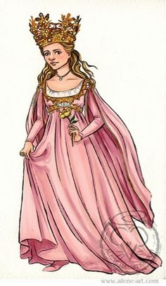 Alene Illustration: Sketch: The Princess Bride by Alison Mutton | www.alene-art.com