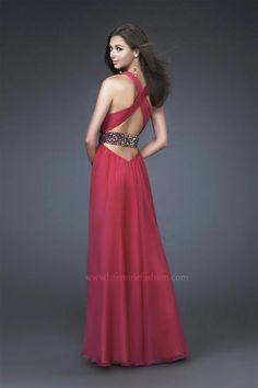 La Femme Dress 16183 at Peaches Boutique