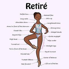 Retiré is a very important position in ballet, it is the basis of all pirouettes and développés. Plus it will always look good in a holographic prism leotard ?