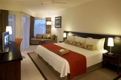 Our room at Radisson Blu Denarau Island