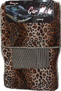 leopard car mats or seat covers