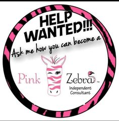 Pink Zebra home -independent Consultant charity h #63883  Pink Zebra consultants needed all over the U.S. start your business for $74 after my $25 rebate, plus get an additional $25 in FREE products from me as a thank you for joining my Sprinkles Diva's team! go to www.pinkzebralady.com click JOIN , you can be selling off your website, recruiting and doing online parties even before your kit arrives!! questions? Call 888-412-3843 email sprinklescandlelady@hotmail.com www.pinkzebralady.com