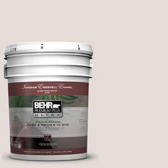 BEHR Premium Plus Ultra 5-gal. #N220-1 Spun Wool Eggshell Enamel Interior Paint