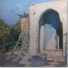 Orange Grove in Sidon - Omar Onsi Orange Grove, His Travel, Fine Art Photography, Impressionist, Printmaking, Sculptures, Art Gallery, Painters, Drawings