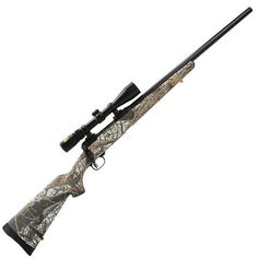Savage Arms 11 Trophy Predator Hunter Bolt Action Rifle .223 Remington 22 Carbon Steel Barrel 4 Rounds Wood Stock Snow Camo Stock Blued Finish with Nikkon 3-9x40mm Scope 22217