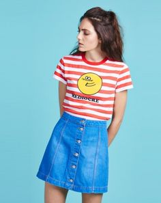 Lazy Oaf Mediocre T-shirt … 90s Fashion, Retro Fashion, Vintage Fashion, Fashion Outfits, Womens Fashion, Rock And Roll, Harajuku, Summer Outfits, Cute Outfits