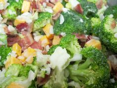 Easy Broccoli Salad #CookoutWeek | Jessie Weaver