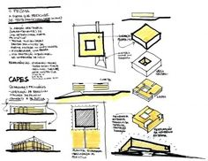resenhasonline Sobre as propriedades sutis do éter Site Analysis Architecture, Architecture Concept Drawings, Pavilion Architecture, Architecture Student, Architecture Design, Le Corbusier, Parti Diagram, Interior Presentation, Conceptual Drawing