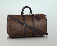 Louis Vuitton Keepall 55 mit Schulterriemen #LouisVuitton #LouisVuittonBag