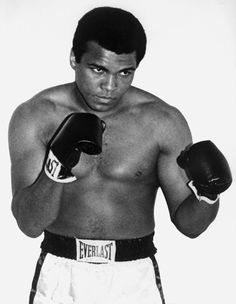 La détermination et la confiance inébranlable de Mohamed Ali m'inspirent !