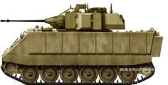 USA (1995) Infantry Fighting Vehicle - 1 built An M113/Bradley hybrid The Egyptian Infantry Fighting