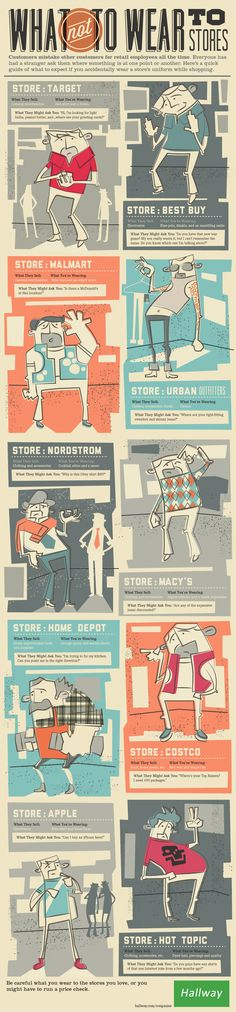 What Not to Wear - In retail stores