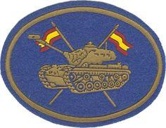"""BRC I- Brigada de Caballería """"Jarama"""" I  1980-1985; Tripulaciones carristas de los RCAC y RCLAC de la BRC I."""