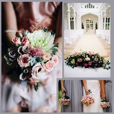 Vintage Flowers | Eden Flower School & Wedding Flowers Vintage Weddings, Autumn Wedding, Vintage Flowers, Wedding Flowers, Wedding Ideas, Table Decorations, Park, School, Home Decor