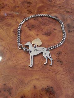 Personalized Greyhound Bracelet