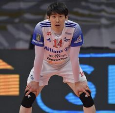 Japan Volleyball Team, Volleyball Players, Ishikawa, Sport Man, Pose Reference, Cute Boys, Athlete, Poses, Running